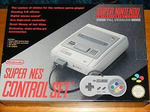 Super Nintendo Entertainment System Console (SNES) + 5 games Rozelle Leichhardt Area Preview