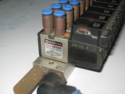 Electrovanne pneumatique 24 volts