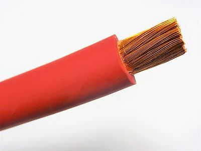 20 Welding Battery Cable Sae J1127 Red 600v Usa Epdm Jacket Per Foot Ofc