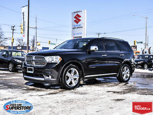 2013 Dodge Durango Citadel AWD ~HEMI ~Nav ~DVD ~Heated/Cooled Le