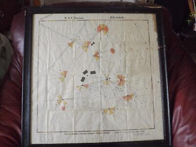 Dynasty Top Secret War Map Military WW2 Odiham UK Drawing Rare Christmas Canada