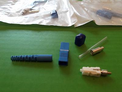 Fibre Optic SC - MM QT2 Fiber Conn 3.0 Jacket ASCA-02-T2-62 302-520 x2pcs ONO