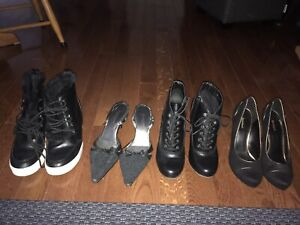 Size 10/11 women's boots and dress shoes