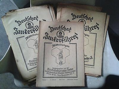 35 x Deutscher Imkerführer Bienenzucht Imkerwesen1935 - 1942