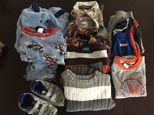Size 5 Boys Grab Bag of Clothes/Shoes