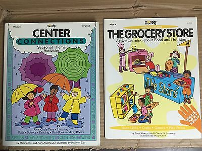 2 Prek K Hands On Activity Books Seasonal Center Connections Grocery A486