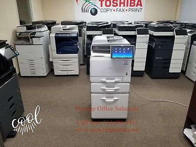 Ricoh Mp C5503 Color Copier-printer-scanner. Meter Only 11k See Video Below