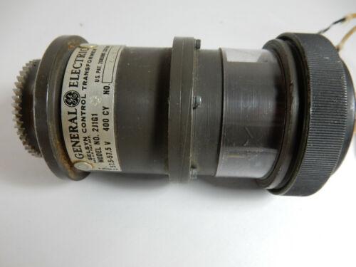 VTG GE General Electric Selsyn Control Transformer, Model 2J1G1, Volts 57.5 USA