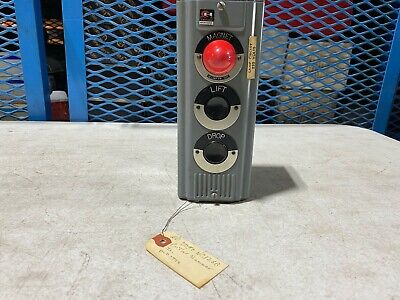 One 1 Cutler Hammer Pushbutton Control Station Magnet Liftdrop Used