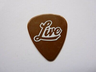 LIVE ED KOWALCZYK 2007 WHITE ON BROWN TOUR ISSUED GUITAR PICK segunda mano  Embacar hacia Mexico