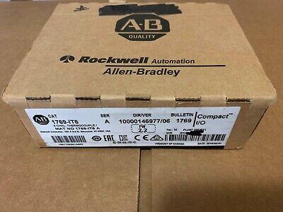 2018 New Sealed Allen Bradley 1769-it6 Ser A Compactlogix 2018