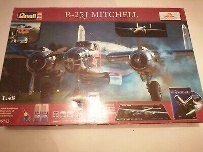 Revell Airfix 1:48 RED BULL B-25J Mitchell Model Kit 05753