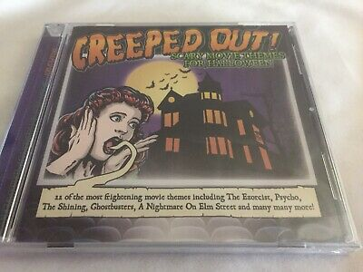 Themes For Halloween (Halloween Creeped Out Scary Movie Themes For Halloween CD NEW)