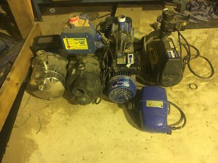 Assorted Water Pumps