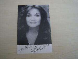 Kate O'Mara (Dynasty) hand signed RARE *FREE POST*