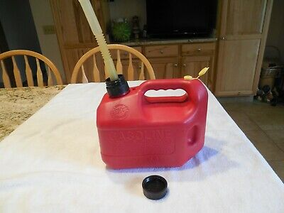 1 Gal 4 Oz Blitz Can Model Icxg Vented With Spout Excellent Clean Condition