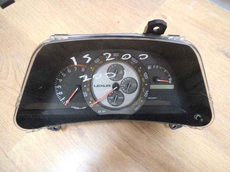 Lexus IS200 Instrument Cluster/ Dash/ Clocks/ Speedo