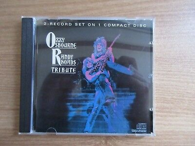 Ozzy Osbourne / Randy Rhoads ‎– Tribute 13 Tracks Rare Korea 1st Orig CD 1991