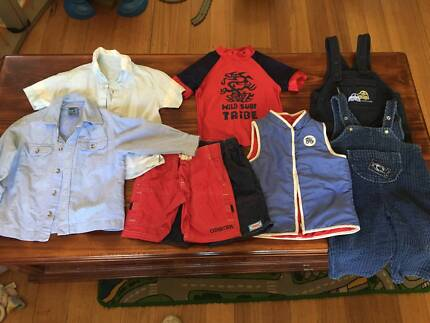 Boys clothes size 1-2 Great Brand names