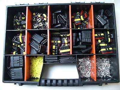 AMP Superseal Stecker Set 1- 6-polig 680 Teile