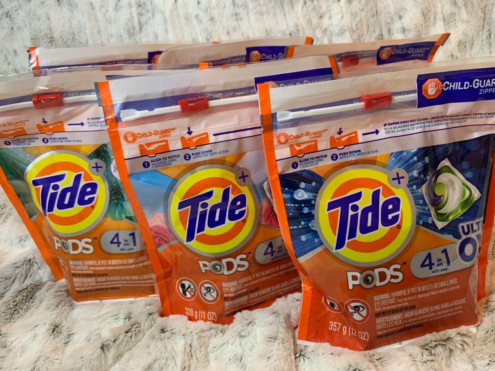 pods liquid laundry detergent pacs