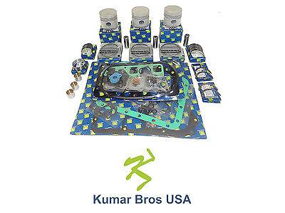 New Kubota L295dt L295f L305 Overhaul Kit Std