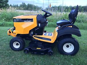 "Cub Cadet 46"" Fuel Injected lawn tractor! We take trade ins!"