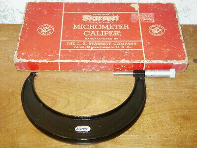 Starrett 5-6 Inch Micrometer No 436p W Box
