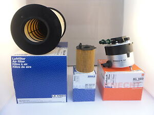 Ford Focus 1.6 TDCI Diesel Service Kit Oil Air Fuel Filter 2007-2012 *OE MAHLE*