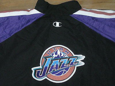 NBA CHAMPION UTAH JAZZ GAME USED WORN JACKET 48 JERSEY UNIFORM ANTHONY  AVENT  54 62c485a0c
