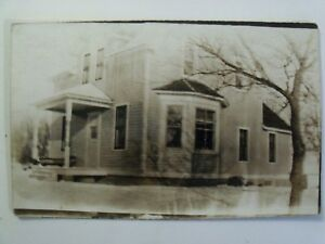 RPPC TX. TYLER, TEXAS OLD VICTORIAN HOME TEX REAL AZO PHOTO 1910's POSTCARD #209
