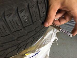 3 Michelin Winter tires 195/60/15