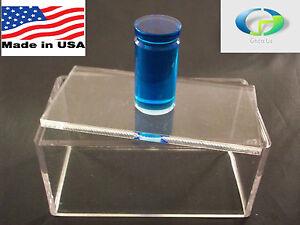 Premium Blue Round Rod Handle Single Acrylic Spam Musubi Sushi Maker FDA Safe