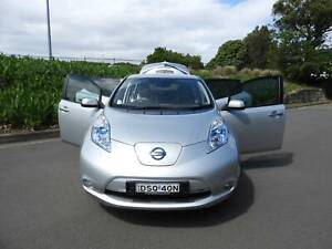 2015 Nissan leaf 1 owner only 30000ks auto 5dr hatch electric power... Haberfield Ashfield Area Preview