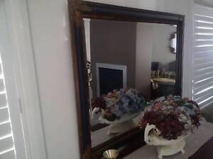 Superb Cedar Buffet + URN + Mirror $1,350 + Antique Sofa + Chairs Pitt Town Hawkesbury Area Preview