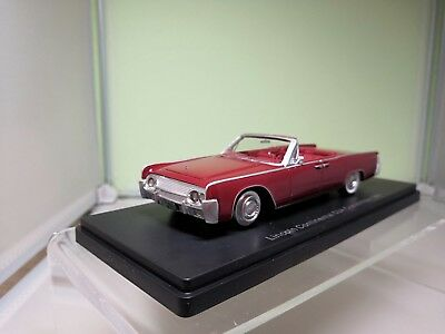 1958-1:43 #46111 Neo Lincoln Continental MKIII Convertible kupfer