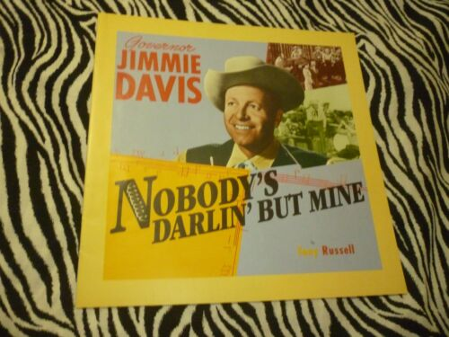 Governor Jimmie Davis 23 Page Booklet - Nice Condition