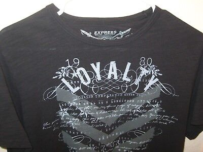 Express Clothing Luxury T Shirt S Thin Black As N E W Tried On Only