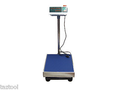 600lb Digital Platform Scale 272kg Measuring Weight Shipping Packages Mailing