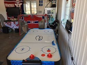 Table air hockey et ping pong