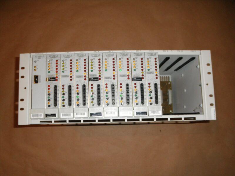 ADC Kentrox Shelf Model 77020 w/ T-Smart Cards 77120-L2 AND 77101-L1
