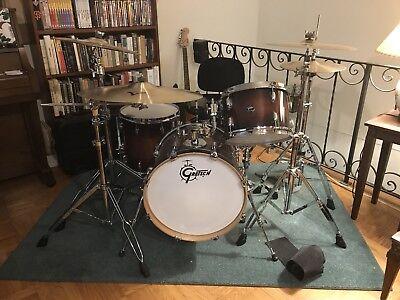 Gretsch Renown Maple Drums - 12/14/18 - Cherry Burst - Includes G2, G1, Emad2