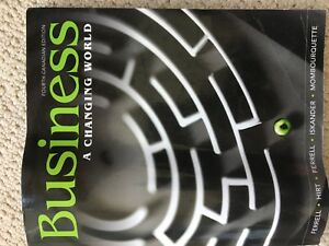 Business a changing world - 4th edition