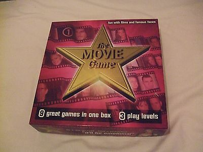 The Movie Game From Smart Cookie Games Ltd 2002 (Smart Cookies Movie)