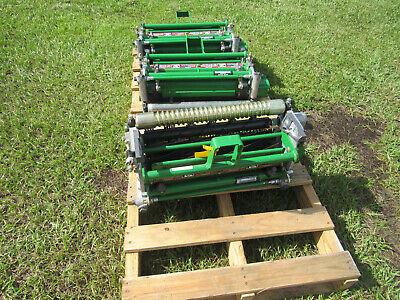 John Deeere New 18qa5 18 Reel With Rollers 180 E-cut Greens Mower W Brush