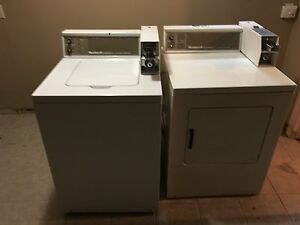 Commercial Laundry machines coin operated