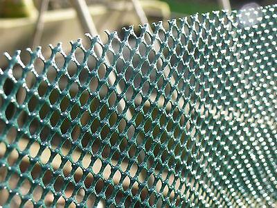 Windbreak Net Fencing Shade Screen Netting Mesh 1x30m Plastic Fence Wind Break