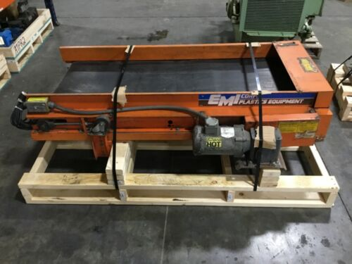 "EMI Smooth Belt Conveyor 23""x57"" Tested #72BK"
