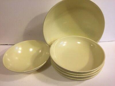 Boonton Ware Melmac Bowls - Yellow