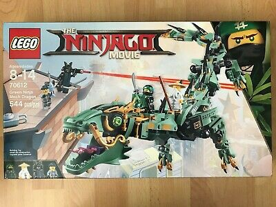 LEGO THE NINJAGO MOVIE 70612 Green Ninja Mech Dragon NISB New & Sealed